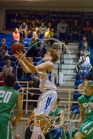 Chouteau vs Adair Basketball