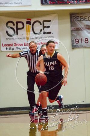 Salina vs Cascia Hall Girls Basketball