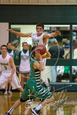 Adair vs Chelsea Basketball homecoming