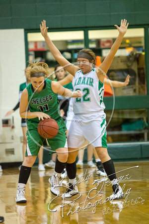 Adair vs Chelsea Girls Basketball