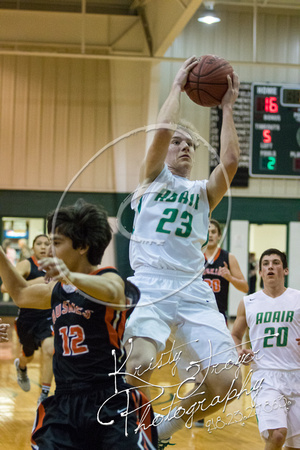 Adair vs Pawhuska Boys Basketball